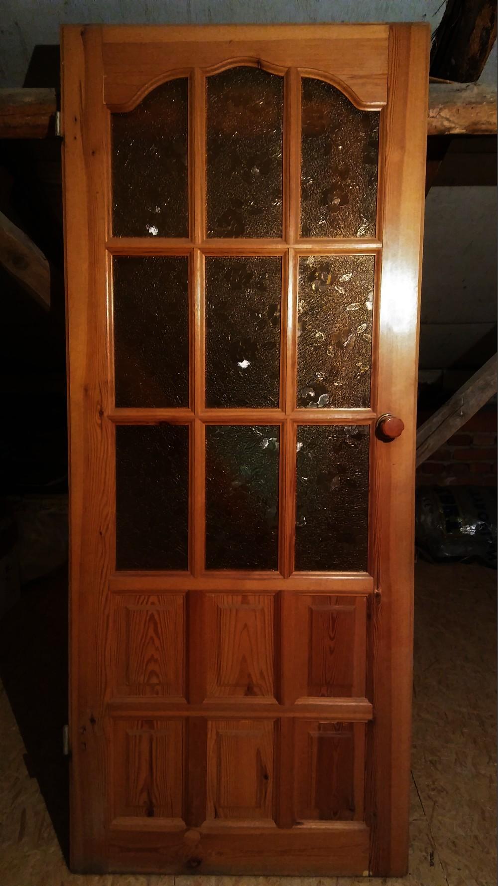 Sprzedam Drewniane Drzwi 80 X 220 Okna Drzwi Schody Ogloszenia