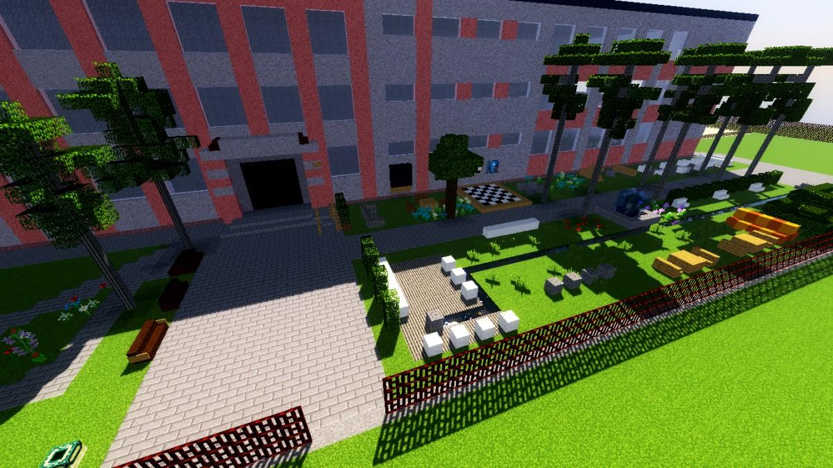 Ogród Minecraft Przy Sp5 Wirtualny Mińsk Mazowiecki